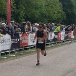 Viv Keenpac at Blenheim Triathlon