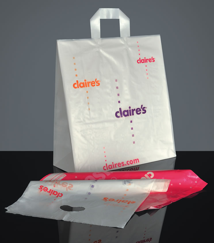 Polyethylene Bags - Flexiloop Handle - Keenpac