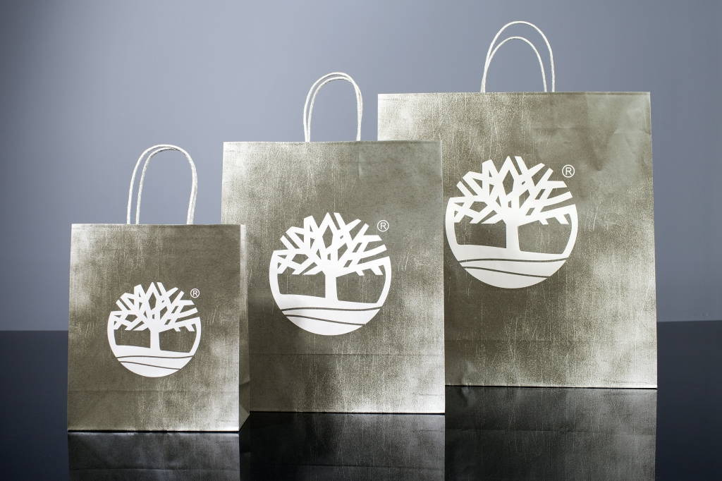 Retail Kraft Carrier Bags