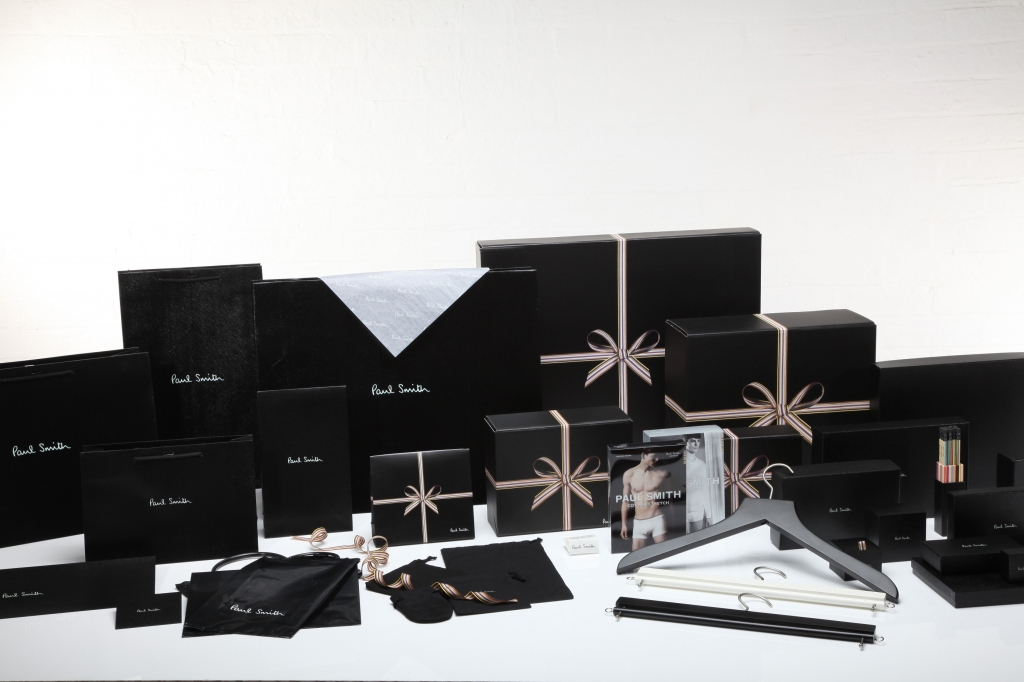 Paul Smith Packaging Product Samples