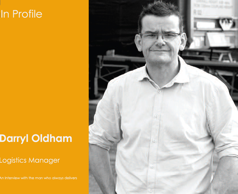 Darryl Oldham, Packaging Logistics