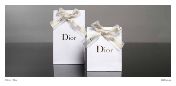 Product Packaging Dior