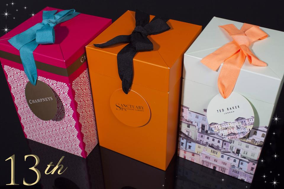 Gift Packaging - 13th Day of Christmas