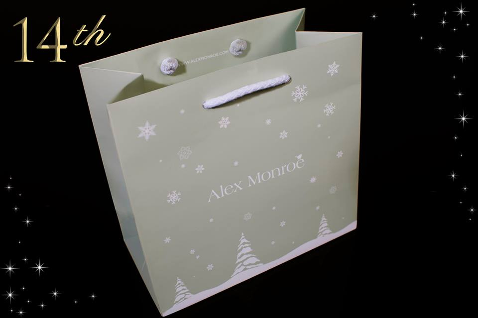 Alex Monroe Gift Bags - 14th Day