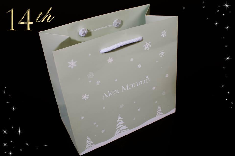Alex Monroe Gift Bags - 14th Day