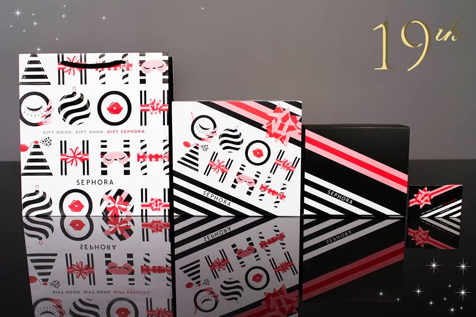 Sephora Gift Packaging - 19th Day