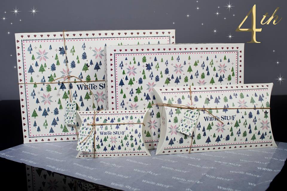 White Stuff Gift Packaging - 4th day of Christmas