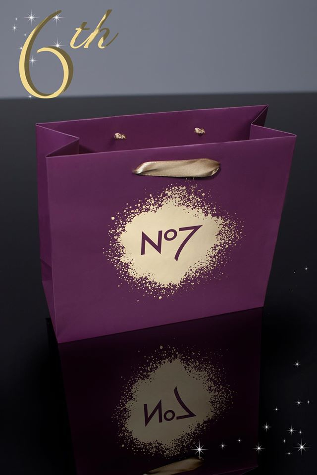 No 7 Carrier Bag - 6th day of Christmas