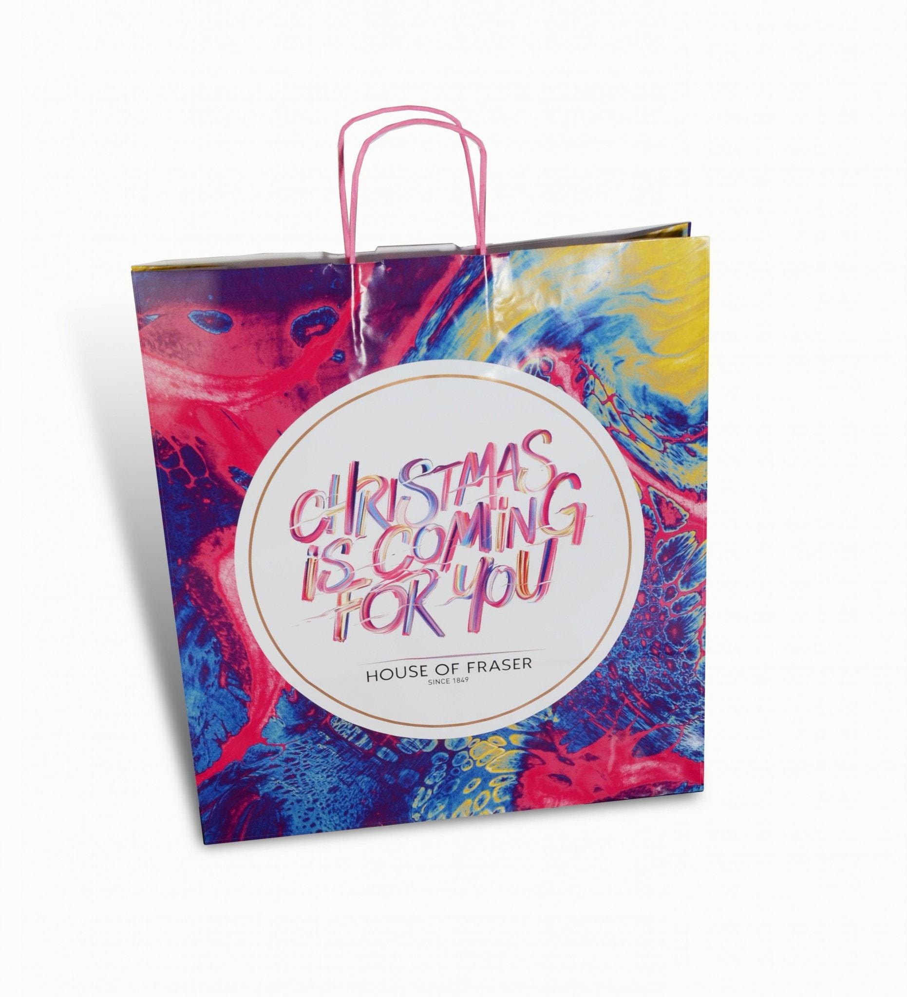House of Fraser Christmas Packaging