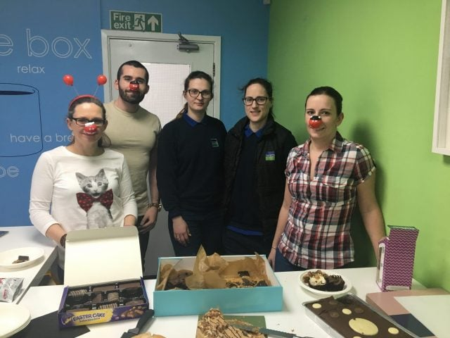 Red Nose Day at Keenpac