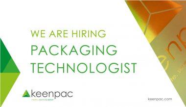 Packaging Technologist Job