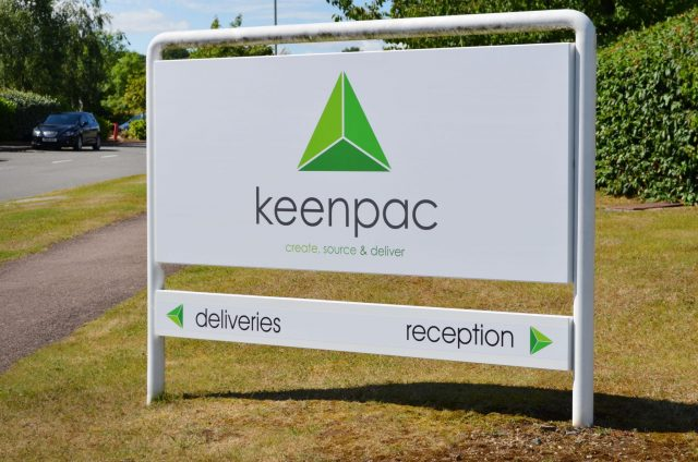 Keenpac Signage